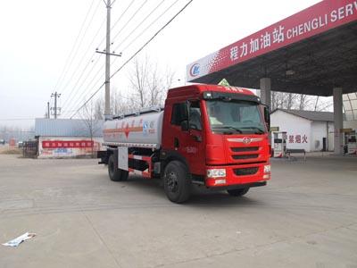 国五解放单桥油罐车