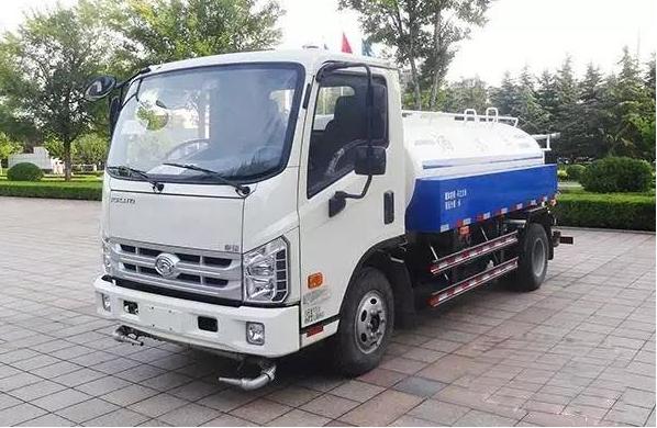 国五福田康瑞绿化喷洒车