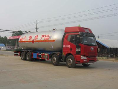 国五解放前四后八35.5方液化气体运输车(丙烷)