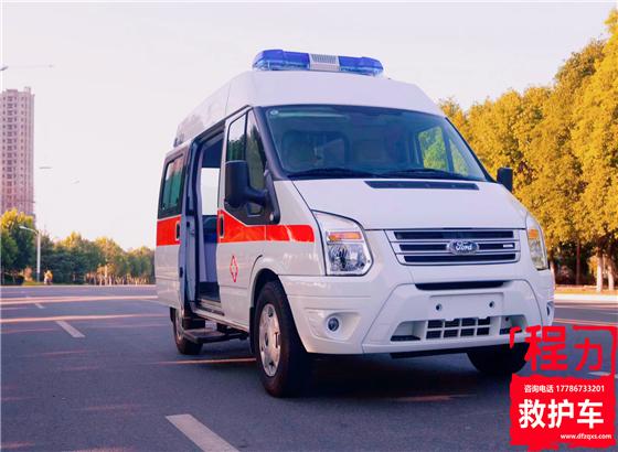 福特全顺新世代V348救护车(短轴中顶)
