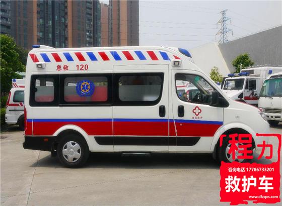 东风御风长轴救护车