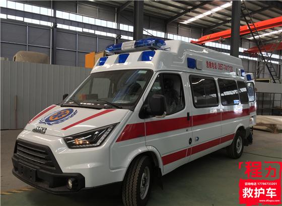 江铃特顺长轴(福星高顶)救护车