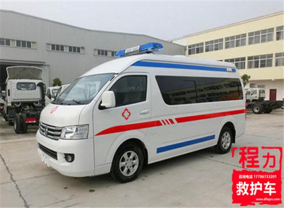 福田G7高顶救护车