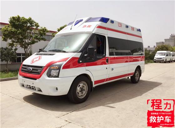 厂家细说救护车的配置标准