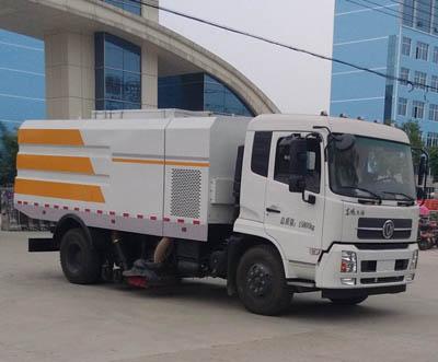 程力威牌CLW5162TSLD5型扫路车